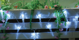 Icicles Solar String Lights